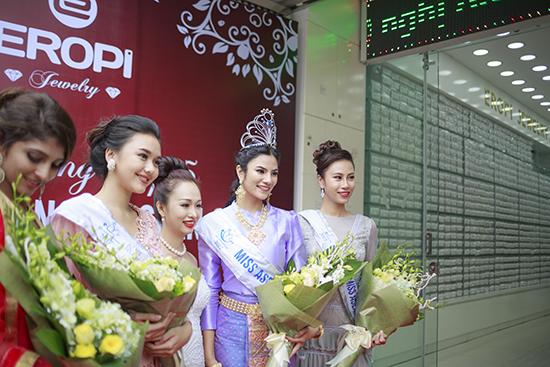 Eropi Jewelry chào đón top 5 Hoa hậu Hữu nghị ASEAN 2017
