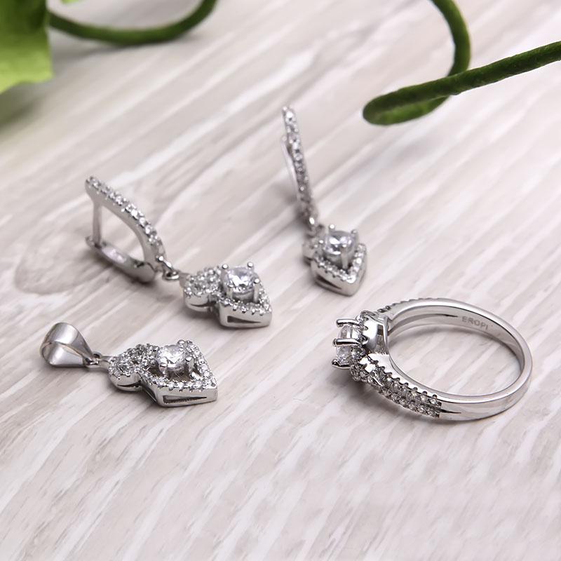 Bộ trang sức bạc Alena Beautiful - 4450102 , 102080003 , 249_102080003 , 1289000 , Bo-trang-suc-bac-Alena-Beautiful-249_102080003 , eropi.com , Bộ trang sức bạc Alena Beautiful