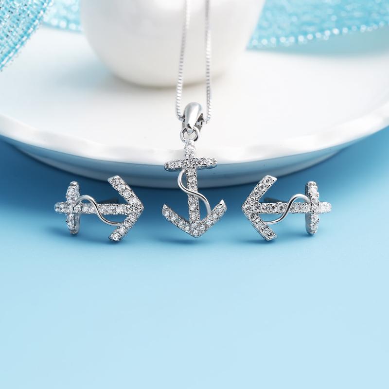 Bộ trang sức bạc Anchor