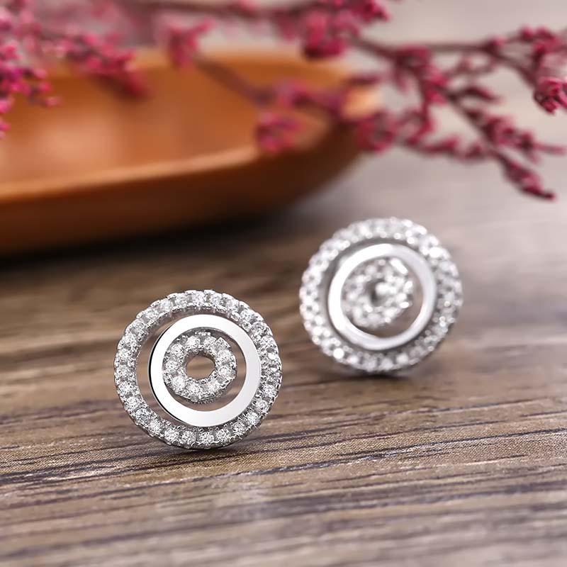 Bộ trang sức bạc Aureli Love