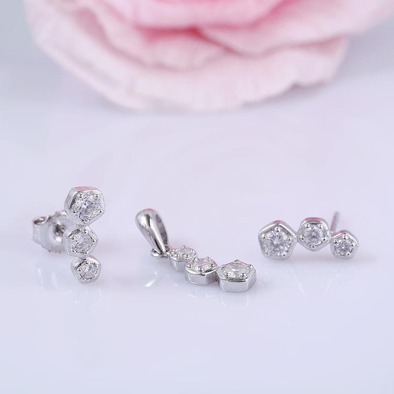 Bộ trang sức bạc Beauty Hannha
