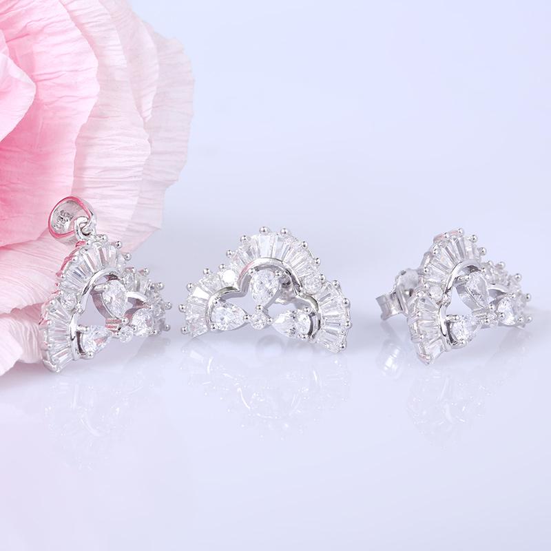Bộ trang sức bạc Beauty Manini