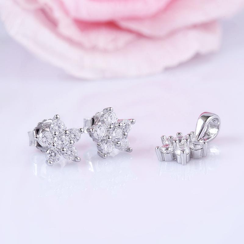 Bộ trang sức bạc Best Flower