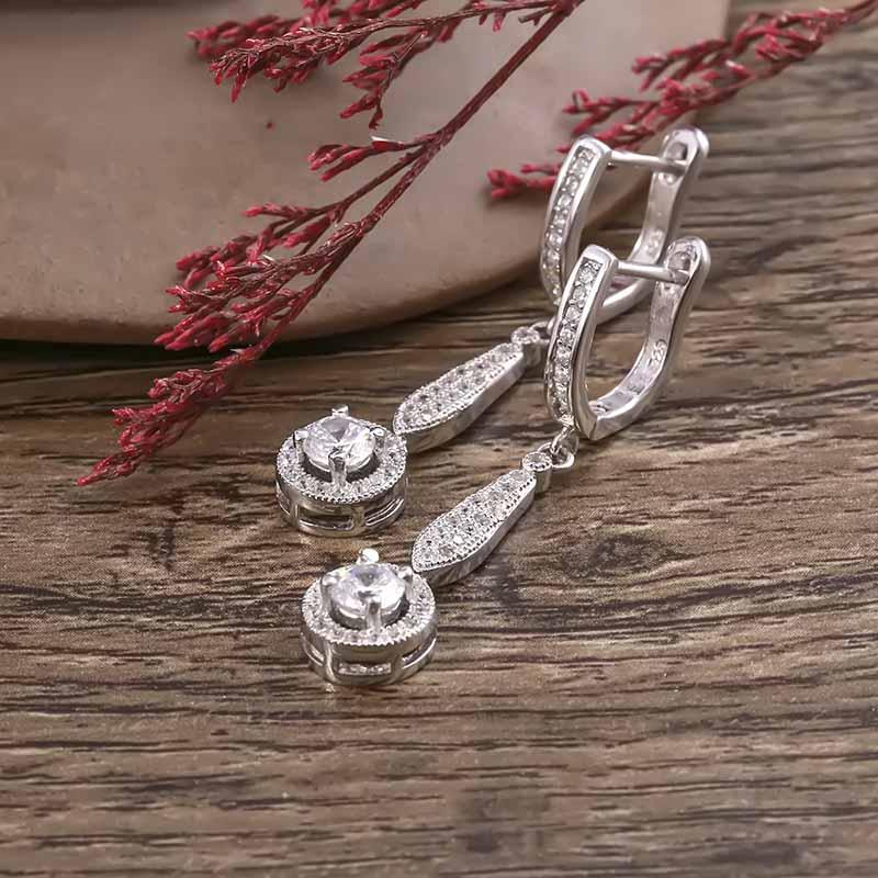 Bộ trang sức bạc Calliope Like - 4450086 , 102070004 , 249_102070004 , 1437000 , Bo-trang-suc-bac-Calliope-Like-249_102070004 , eropi.com , Bộ trang sức bạc Calliope Like