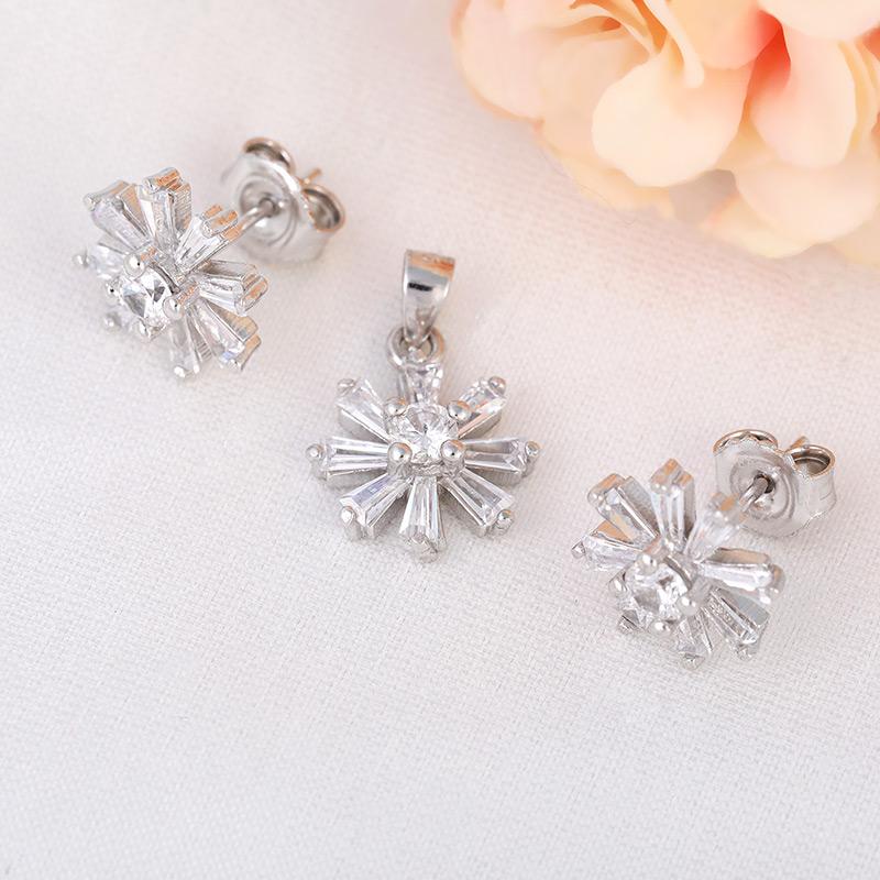 Bộ trang sức bạc Candice Flower - 4451924 , 101070009 , 249_101070009 , 552000 , Bo-trang-suc-bac-Candice-Flower-249_101070009 , eropi.com , Bộ trang sức bạc Candice Flower