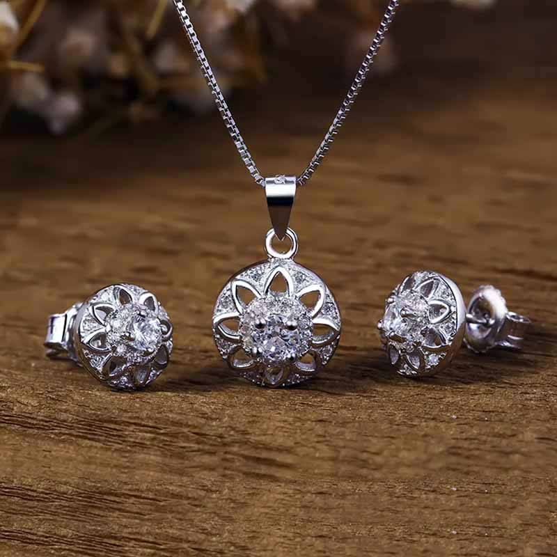 Bộ trang sức bạc For You