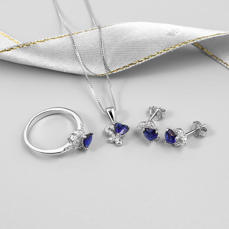 Bộ trang sức bạc For Your Heart