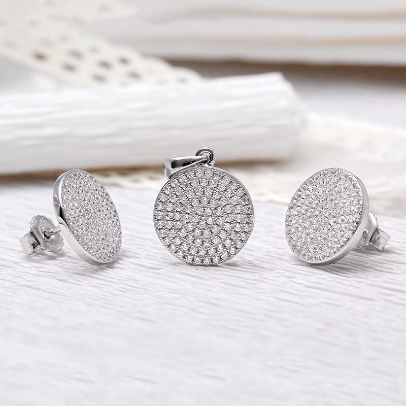 Bộ trang sức bạc Gianna Circle