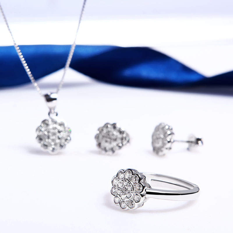 Bộ trang sức bạc Kenvin Love - 4451095 , 100090023   , 249_100090023   , 883000 , Bo-trang-suc-bac-Kenvin-Love-249_100090023   , eropi.com , Bộ trang sức bạc Kenvin Love