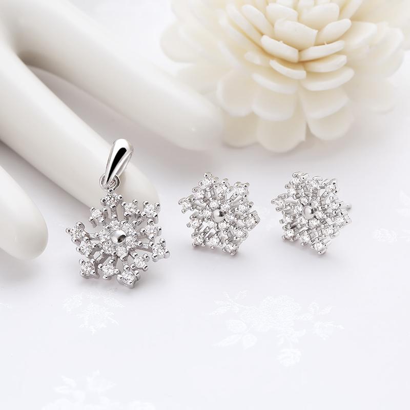 Bộ trang sức bạc Little Snowflake