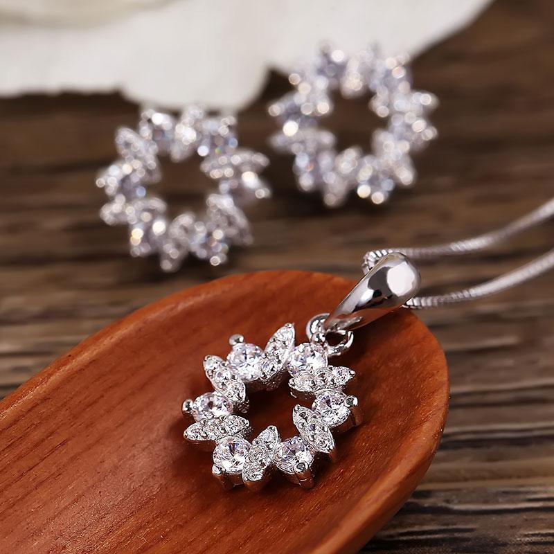 Bộ trang sức bạc Minina Flowers - 4450471 , 101070056 , 249_101070056 , 521000 , Bo-trang-suc-bac-Minina-Flowers-249_101070056 , eropi.com , Bộ trang sức bạc Minina Flowers