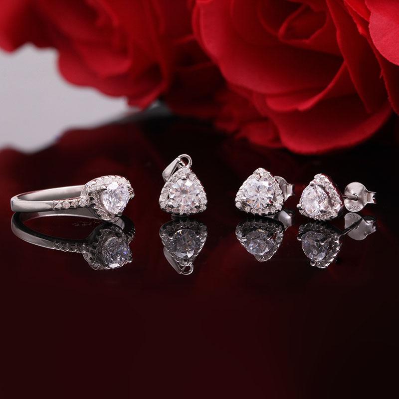 Bộ trang sức bạc Nice Pediment - 4450224 , 103080057 , 249_103080057 , 728000 , Bo-trang-suc-bac-Nice-Pediment-249_103080057 , eropi.com , Bộ trang sức bạc Nice Pediment