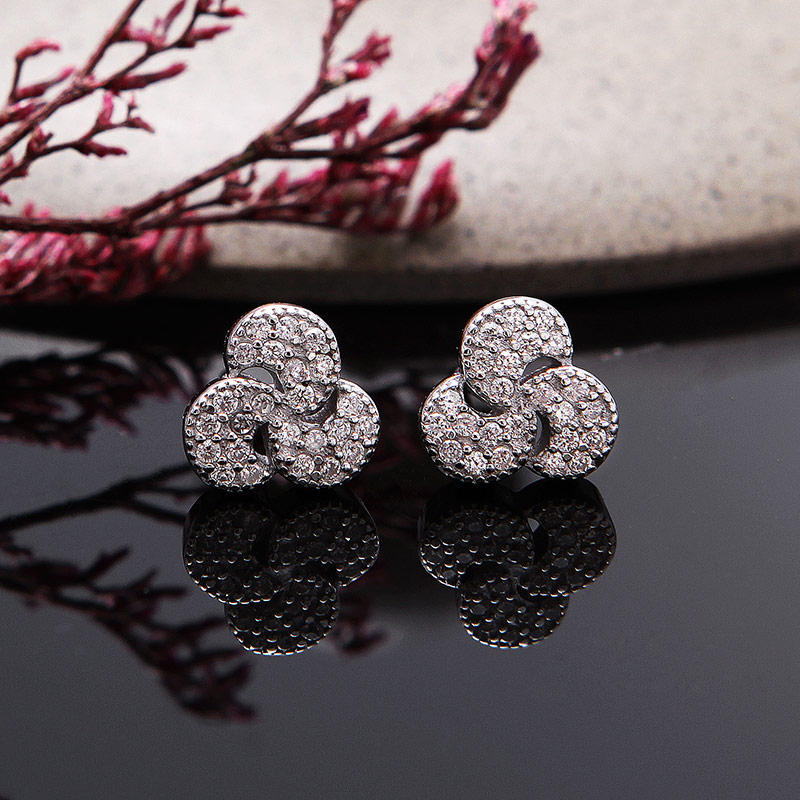 Bộ trang sức bạc Poppy Love
