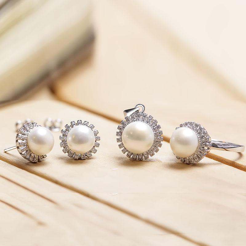 Bộ trang sức bạc Sunlight Pearl - 4450666 , 102080025 , 249_102080025 , 1356000 , Bo-trang-suc-bac-Sunlight-Pearl-249_102080025 , eropi.com , Bộ trang sức bạc Sunlight Pearl