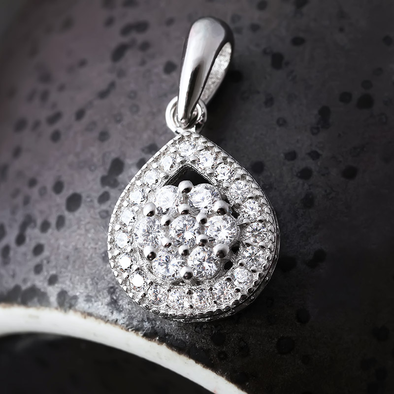 Bộ trang sức bạc Tears Of Love