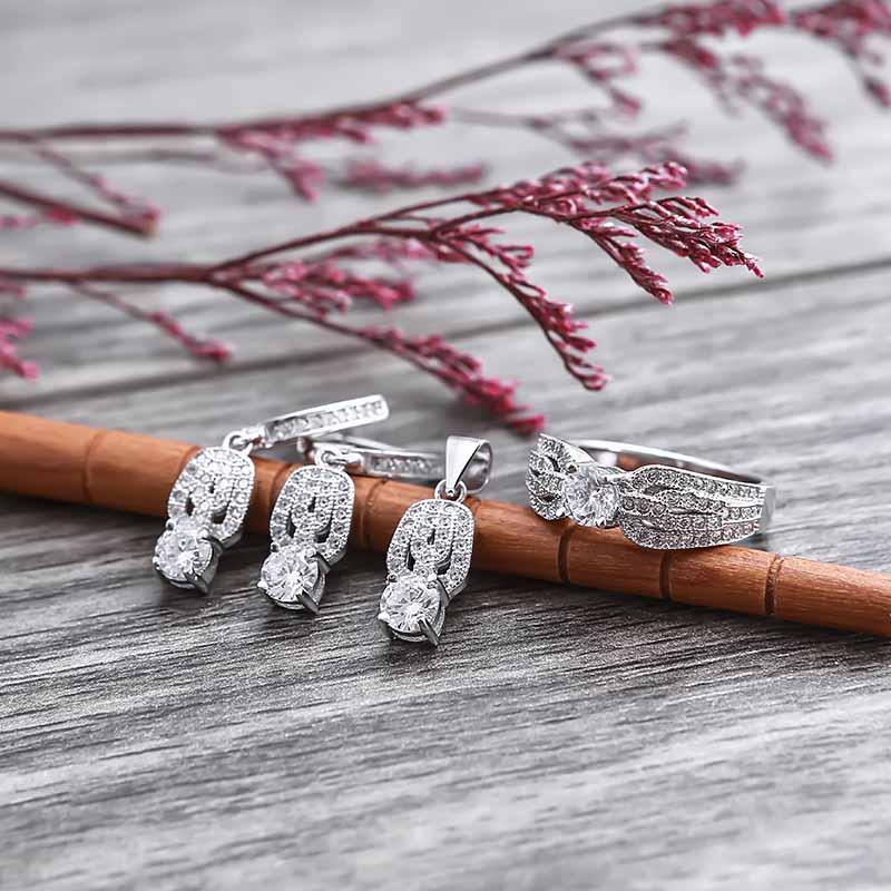 Bộ trang sức bạc The Best Gift - 4450107 , 102080002  , 249_102080002  , 1426000 , Bo-trang-suc-bac-The-Best-Gift-249_102080002  , eropi.com , Bộ trang sức bạc The Best Gift