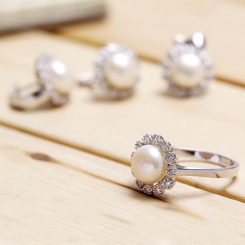 Bộ trang sức bạc Tifany Pearl - 4450664 , 103080030 , 249_103080030 , 1176000 , Bo-trang-suc-bac-Tifany-Pearl-249_103080030 , eropi.com , Bộ trang sức bạc Tifany Pearl