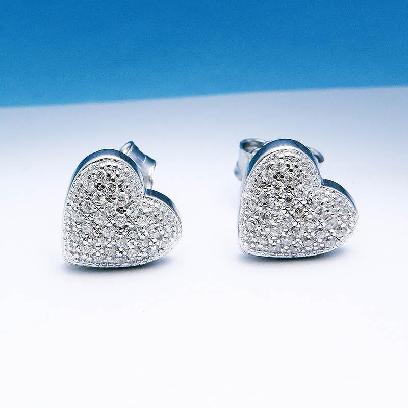 Bông tai bạc Simple Heart - 4451360 , 101020043 , 249_101020043 , 376000 , Bong-tai-bac-Simple-Heart-249_101020043 , eropi.com , Bông tai bạc Simple Heart