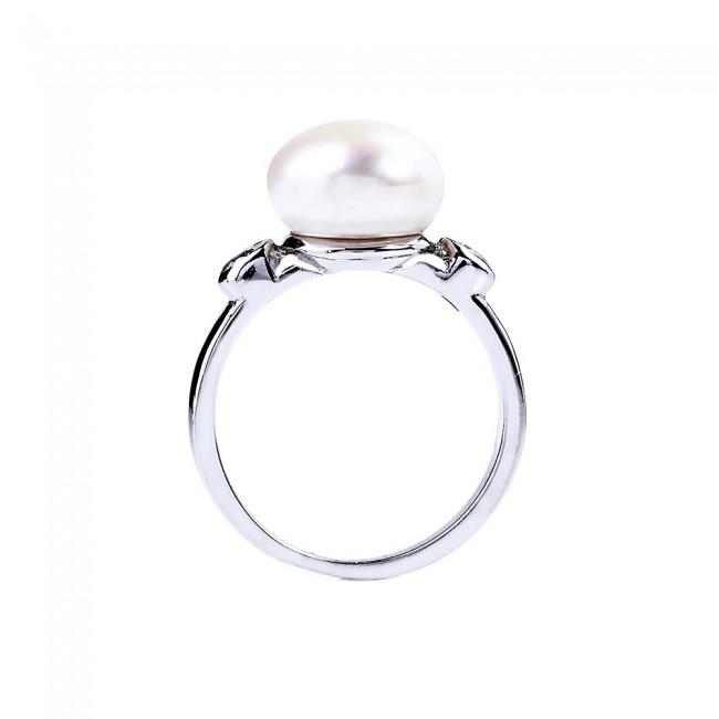Nhẫn bạc ngọc trai Naveen 3
