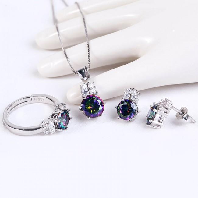 Bộ trang sức bạc Athun Love      2