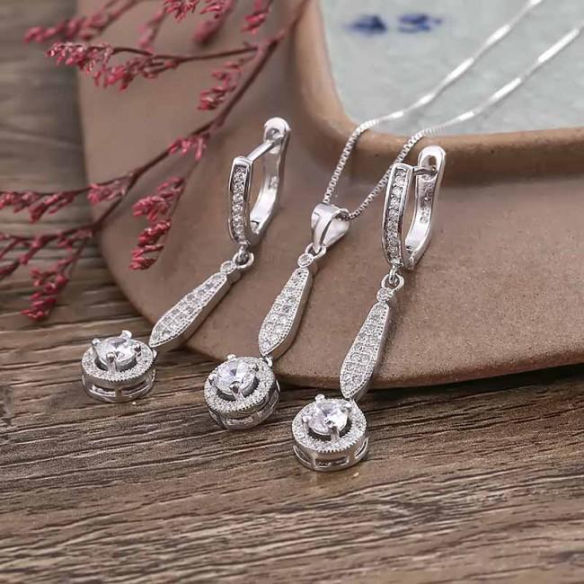 Bộ trang sức bạc Calliope Like 2