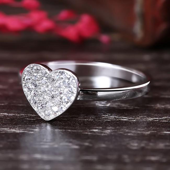 Bộ trang sức bạc Curtis Heart 3