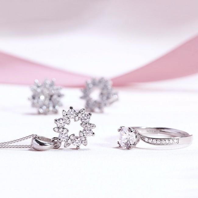 Bộ trang sức bạc Gift For You 3