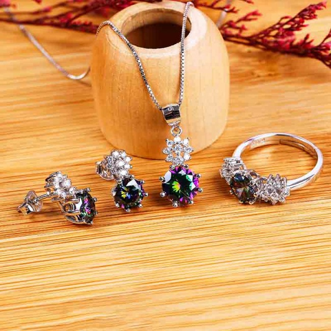 Bộ trang sức bạc Katina Love      2