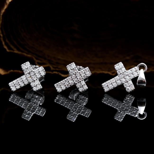 Bộ trang sức bạc Mark Cross 2