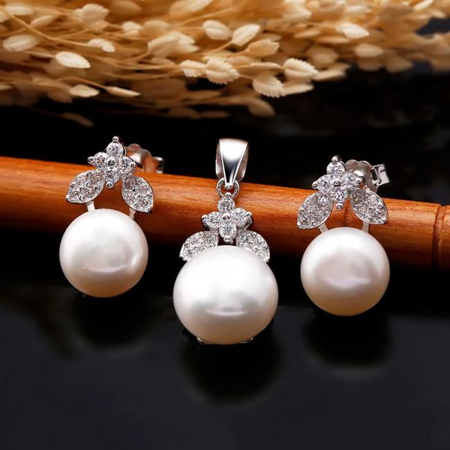 Bộ trang sức bạc ngọc trai My Wish 2