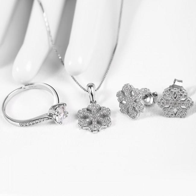 Bộ trang sức bạc Special Snowflakes 2