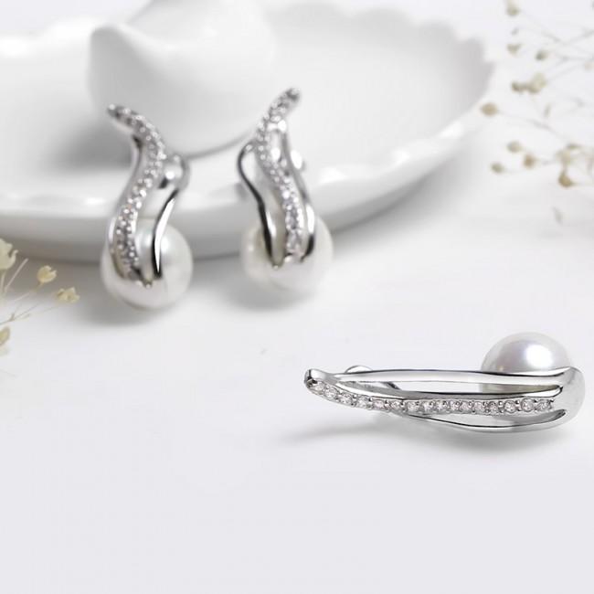 Bộ trang sức bạc Angel Harp 2