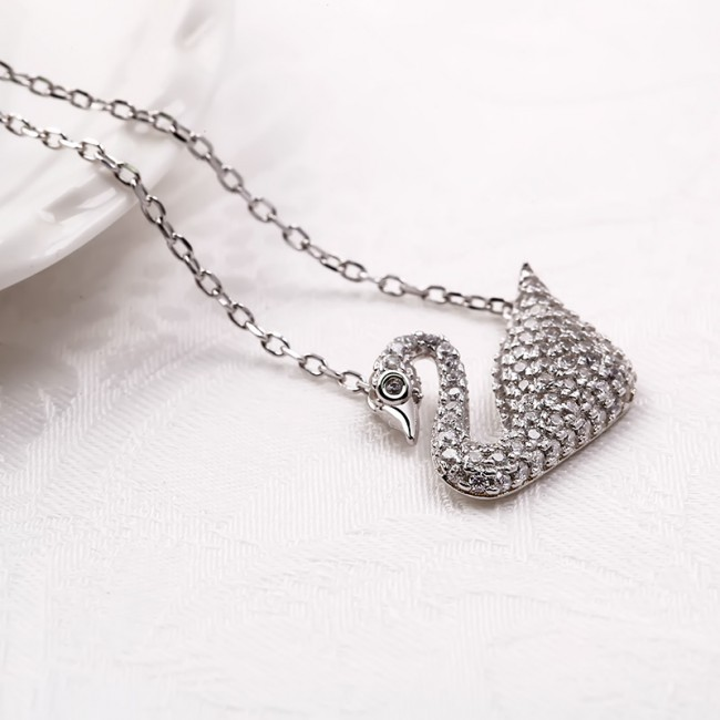Dây chuyền bạc Pretty Swan 3