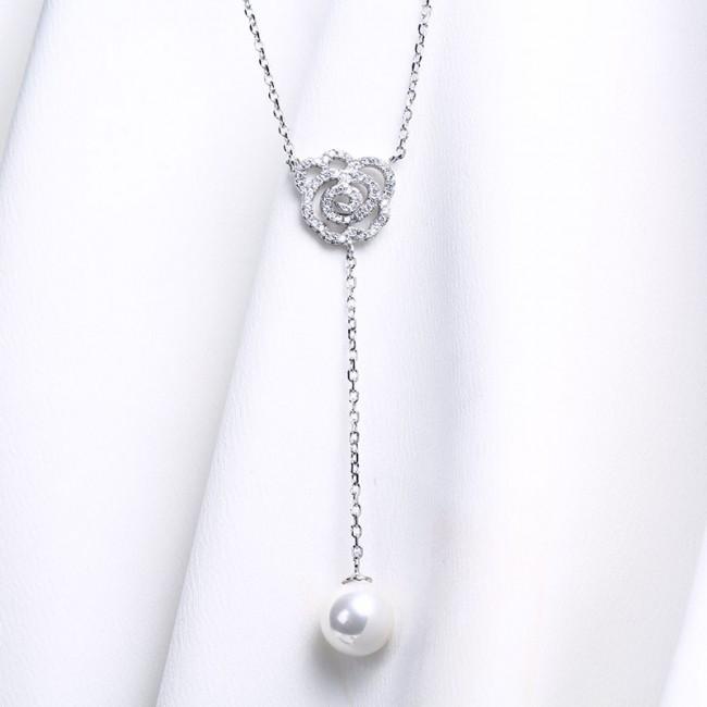 Dây chuyền bạc Princess Pearl 3