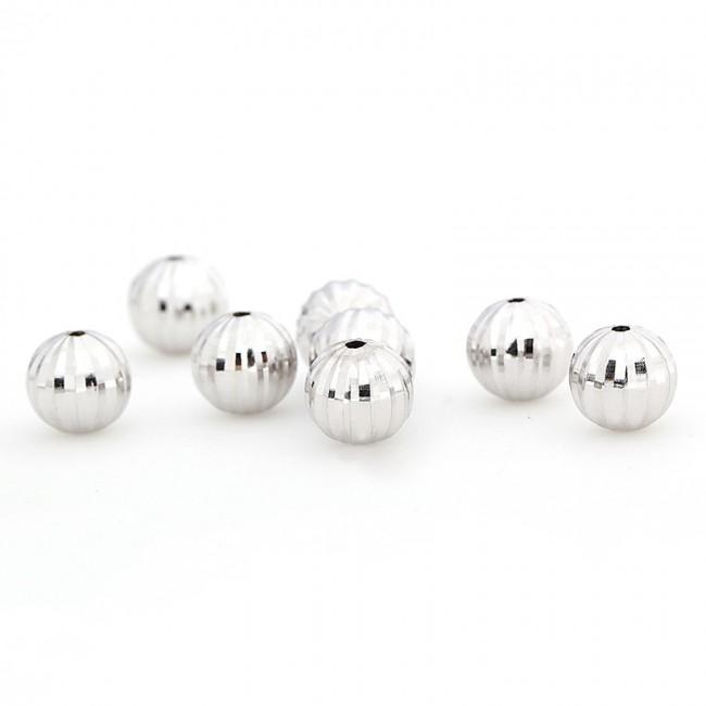 Hạt charm bạc 105000087