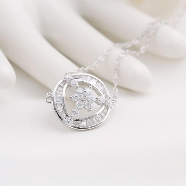Lắc tay bạc Sakura Like3
