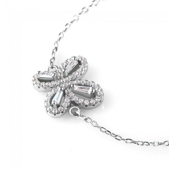 Lắc tay bạc Butterfly Love   3