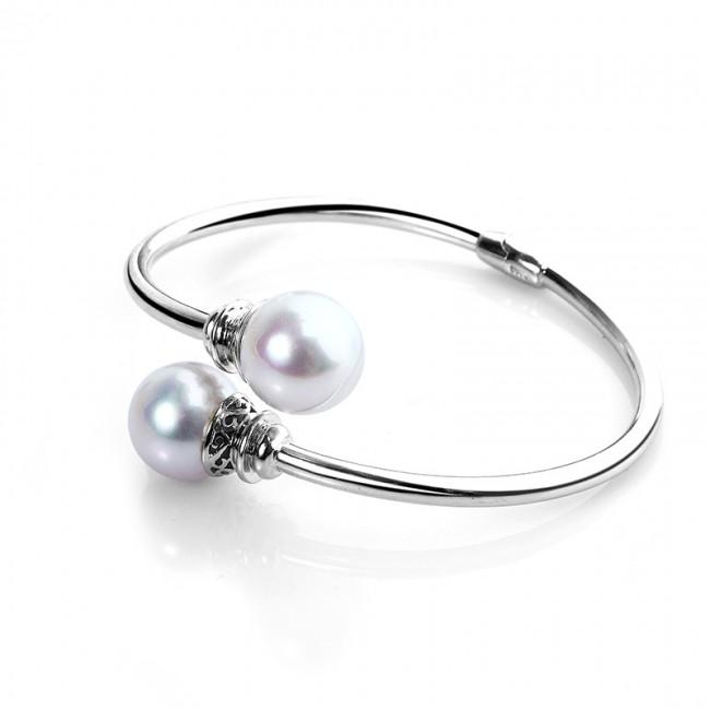 Lắc tay bạc Ely Pearl 3