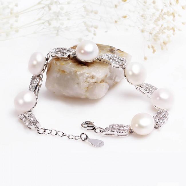 Lắc tay bạc Seaway Pearl -2