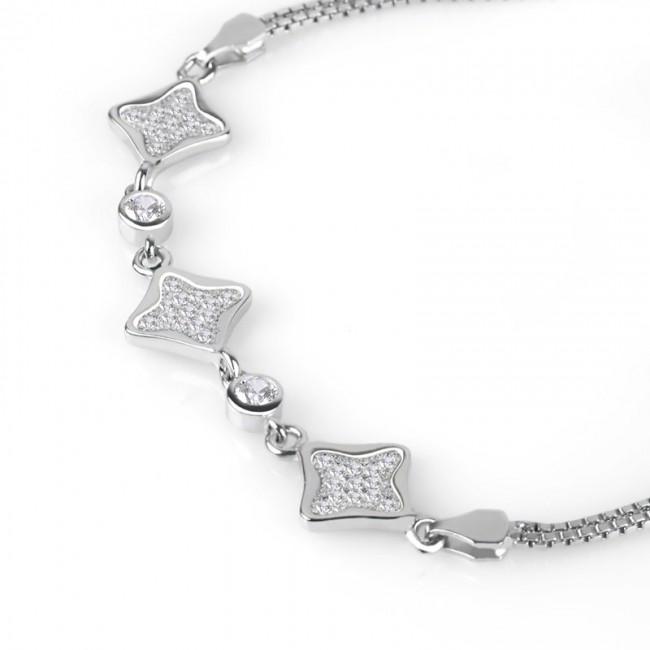 Lắc tay bạc Tiffany Love  3