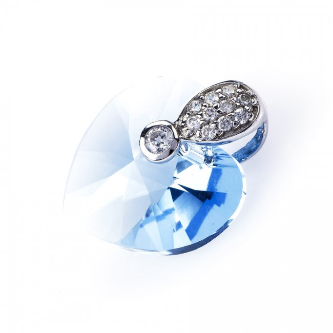 Mặt dây chuyền bạc Color Of Love 3