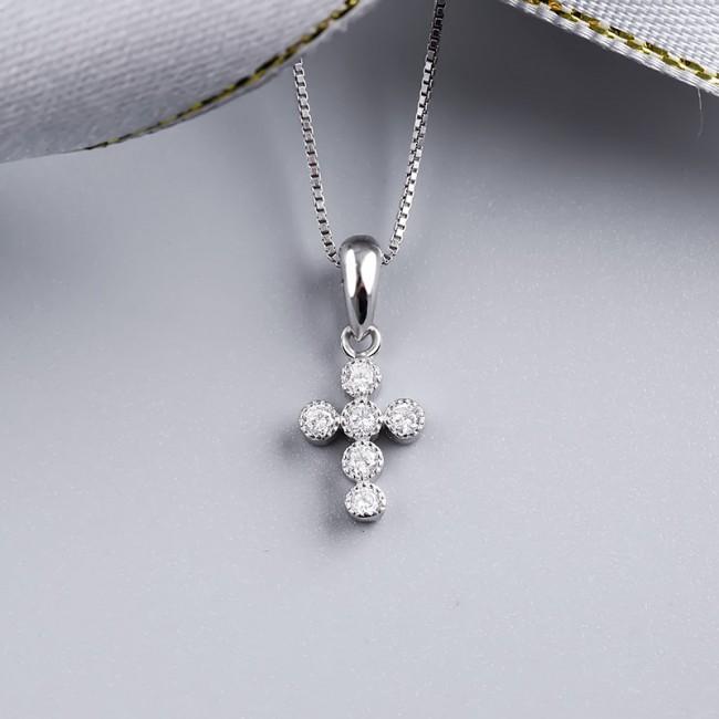 Mặt dây chuyền bạc Layla Cross 3