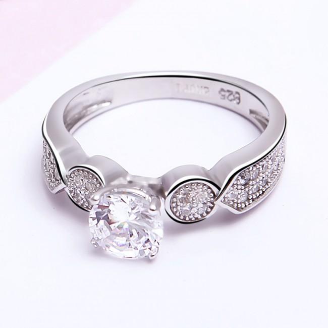 Nhẫn bạc Alexander 3
