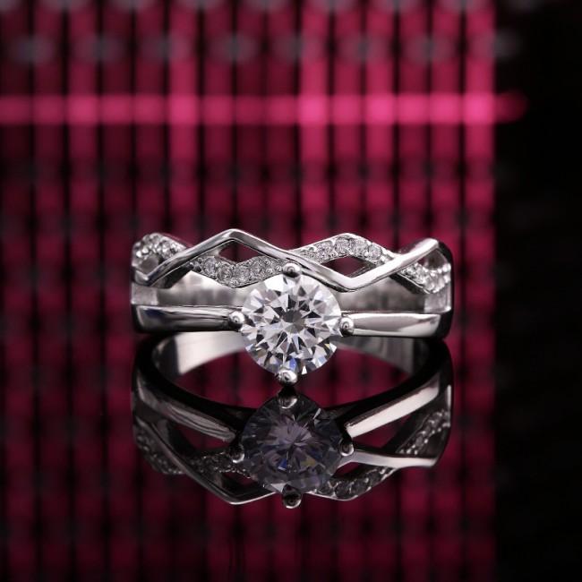 Nhẫn bạc Basil Love 3