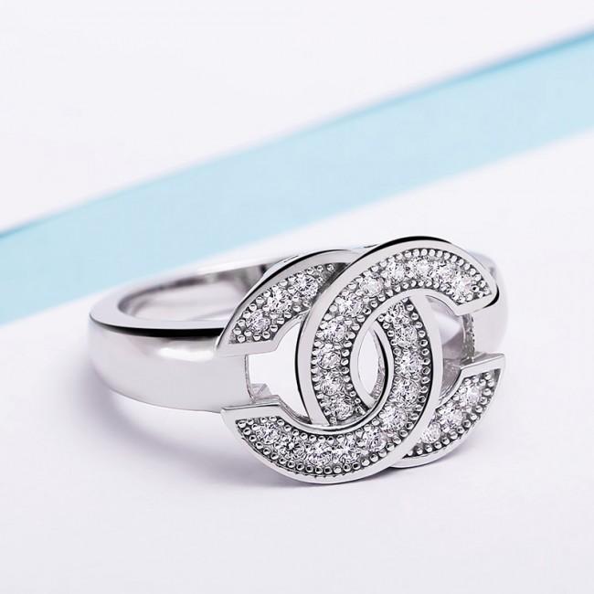 Nhẫn bạc Chanel 3
