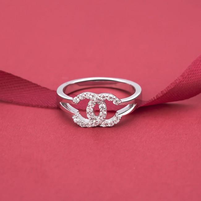 Nhẫn bạc Chanel Perfect 3