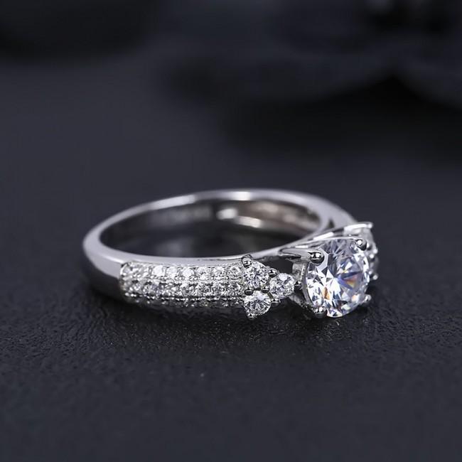 Nhẫn bạc Classic Style 3
