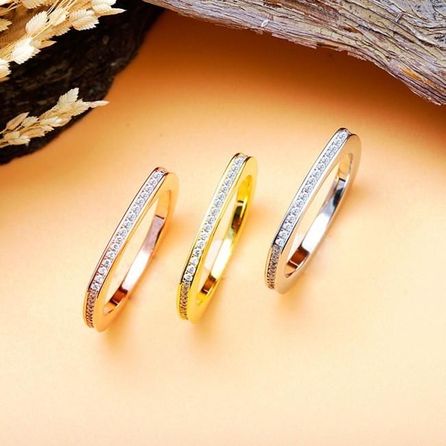 Nhẫn bạc Color Love 3