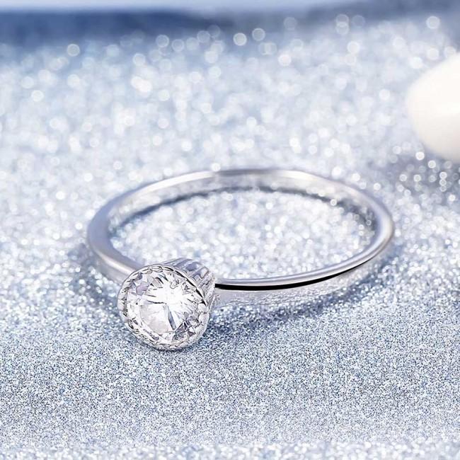 Nhẫn bạc Flower Buds 3