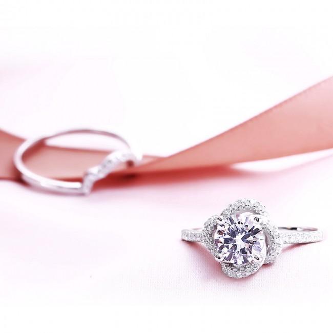 Nhẫn bạc Hani Love3